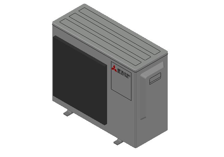 HC_Heat Pump_MEPcontent_Mitsubishi Electric Corporation_MXZ-3F68VF3-E1_INT-EN.dwg