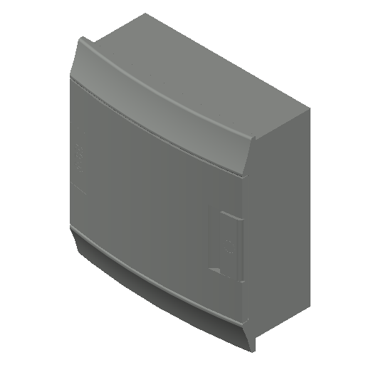 E_Distribution Board_MEPcontent_ABB_MISTRAL41F_Hollow Walls_8 modules 232x250x107 without terminals opaque door_INT-EN.dwg
