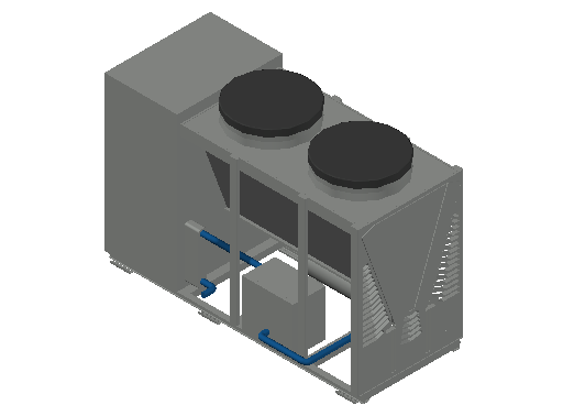 M_Chiller_Liquid_MEPcontent_Climaveneta_PA Group_i-NX 0402P with 1 pump and tank_INT-EN.dwg