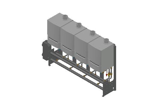 HC_Boiler_MEPcontent_De Dietrich Thermique_Cascade Freestanding 4_Evodens Pro_4x AMC 65 with Concentric Connection 150_INT-EN.dwg