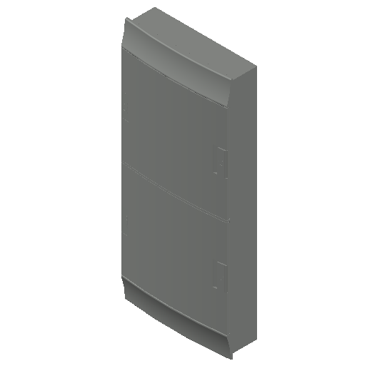 E_Distribution Board_MEPcontent_ABB_MISTRAL41F_Hollow Walls_48 modules 320x735x107 without terminals opaque door_INT-EN.dwg