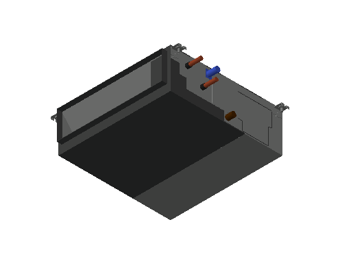 HC_Air Conditioner_Indoor Unit_MEPcontent_Mitsubishi Electric Corporation_PEFY-W25VMA-A_INT-EN.dwg