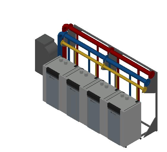 HC_Boiler_MEPcontent_RENDAMAX_R1140 CASCADE_IN LINE_4 BOILERS_140kW_DN 100_INT-EN.dwg