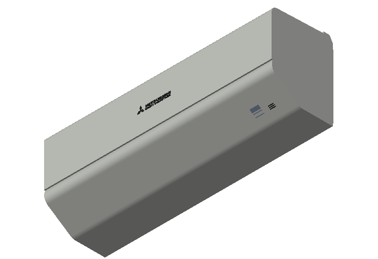 HC_Air Conditioner_Indoor Unit_F_MEPcontent_Mitsubishi Heavy Industries_RAC_SRK50ZSP-W_INT-EN.dwg