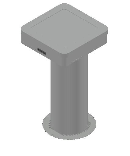 HVAC_Mechanical-Ventilation_Siegenia_AEROTUBE AZ Smart with weather grille stainless steel.dwg