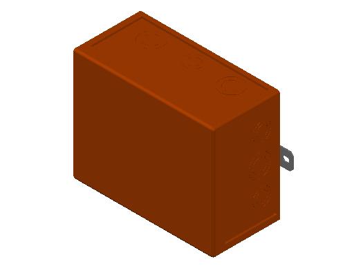 E_Cable Junction Box_MEPcontent_Spelsberg_WKE 6 - 5_3 x 16² 1D0_INT-EN.dwg