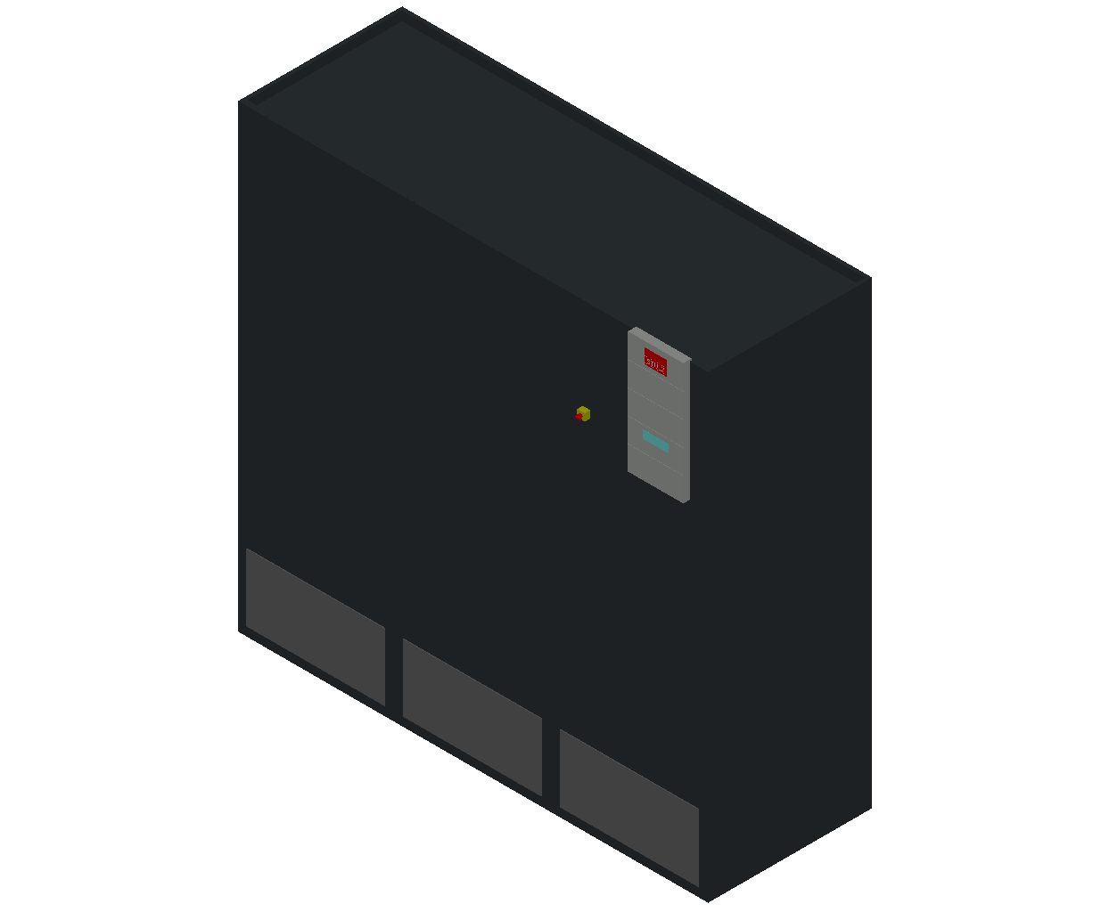 HC_Air Conditioner_Indoor Unit_MEPcontent_STULZ_CyberAir 3PRO_ASR_Dual Circuit A_ASR_822_A_INT-EN.dwg
