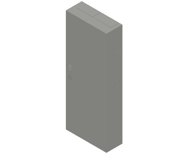 E_Distribution Panel_MEPcontent_ABB_ComfortLine B-Cabinets_9 Rows_B29 - IP44 216 modules 1400x550x215_INT-EN.dwg