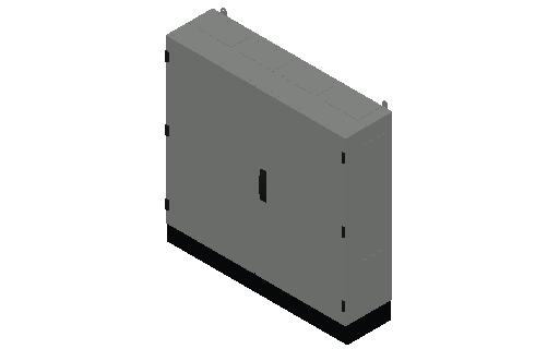 E_Distribution Panel_MEPcontent_ABB_TwinLine N 55_Earthed_950x1050x275_INT-EN.dwg