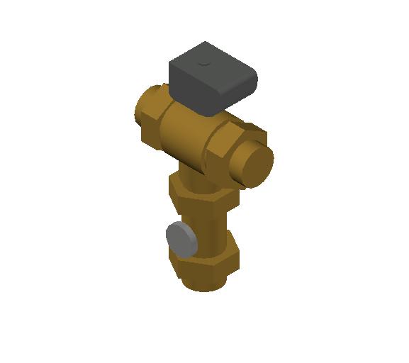 SA_Electronic_mixing_valve-MEPContent_CALEFFI-6000A-DN20-DN50_2 inch. sweat_US-EN.dwg