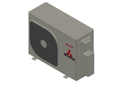 HC_Heat Pump_MEPcontent_Mitsubishi Heavy Industries_RAC_SCM45ZS-W_INT-EN.dwg