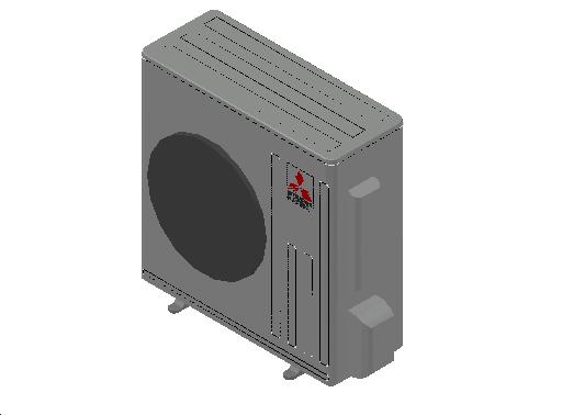 HC_Heat Pump_MEPcontent_Mitsubishi Electric Corporation_MUZ-EF50VE_INT-EN.dwg