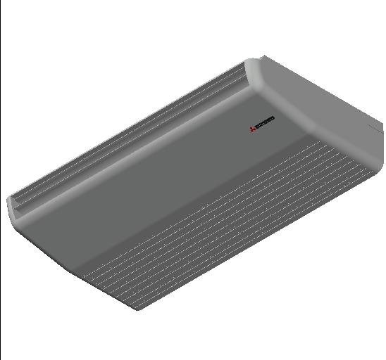HC_Air Conditioner_Indoor Unit_F_MEPcontent_Mitsubishi Heavy Industries_VRF_FDE71KXZE1_INT-EN.dwg