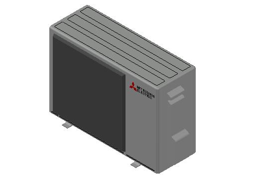 HC_Heat Pump_MEPcontent_Mitsubishi Electric Corporation_SUZ-M25VA_INT-EN.dwg