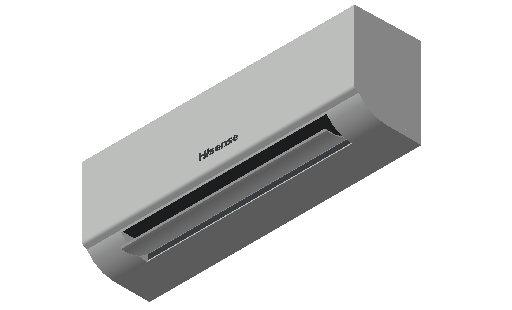HC_Air Conditioner_Indoor Unit_F_MEPcontent_Hisense_AVS-09HJFDJD_INT-EN.dwg