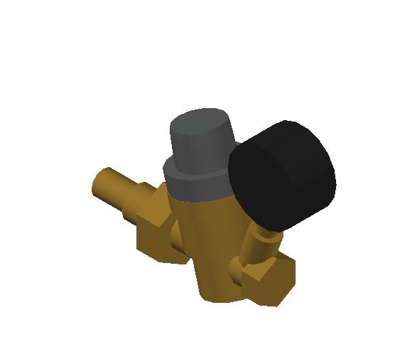 SA_Pressure_ Reducing_ Valve_MEPContent_Caleffi-533HA-DN15_DN20_0.75 inch. PEX expansion with gauge_US-EN.dwg