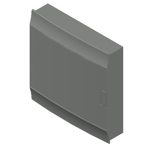 E_Distribution Board_MEPcontent_ABB_MISTRAL41F_Hollow Walls_36 modules 430x435x107 without terminals opaque door_INT-EN.dwg