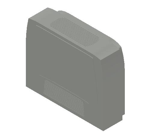 VE_Fan Coil Unit_MEPcontent_Sabiana_Carisma CRC MO-MVB_Heating Additional Coils_Carisma CRC MO-MVB 13+1_INT-EN.dwg