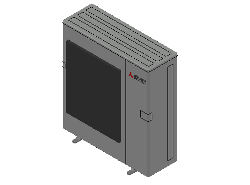 HC_Heat Pump_MEPcontent_Mitsubishi Electric Corporation_MXZ-6D122VA2_INT-EN.dwg