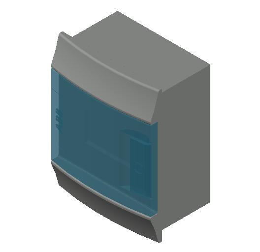 E_Distribution Board_MEPcontent_ABB_MISTRAL41F_Hollow Walls_4 modules 152x202x104 without terminals transparent door_INT-EN.dwg