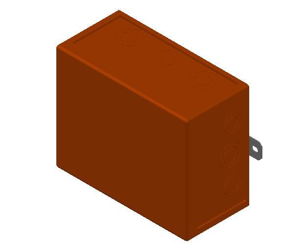 E_Cable Junction Box_MEPcontent_Spelsberg_WKE 6 - 5_3 x 16² 1D0_NL-NL.dwg