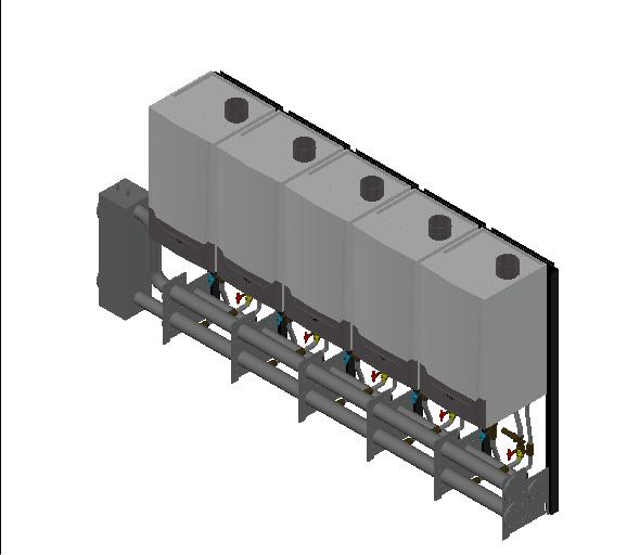 HC_Boiler_MEPcontent_Remeha_Quinta Ace 160 Cascade_Freestanding 5_740 kW_INT-EN.dwg