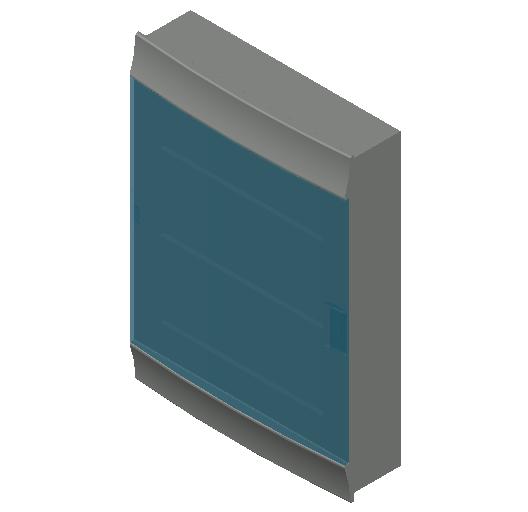E_Distribution Board_MEPcontent_ABB_MISTRAL41F_Hollow Walls_54 modules 430x600x127 without terminals transparent door_INT-EN.dwg