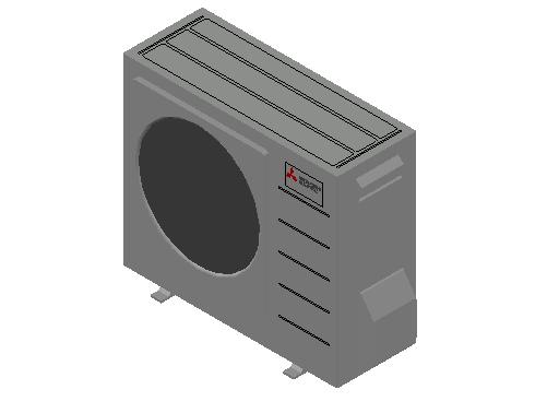 HC_Heat Pump_MEPcontent_Mitsubishi Electric Corporation_QUHZ-W40VA_INT-EN.dwg