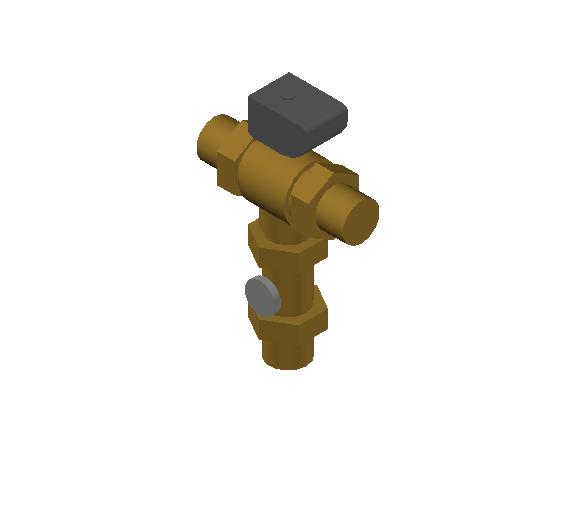 SA_Electronic_mixing_valve-MEPContent_CALEFFI-6000A-DN20-DN50_2 inch. press_US-EN.dwg