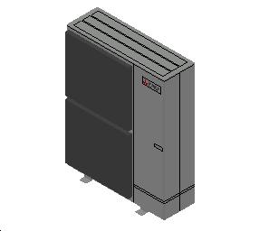 HC_Heat Pump_MEPcontent_Mitsubishi Electric Corporation_Ecodan_PUMY-P125YKME4_INT-EN.dwg