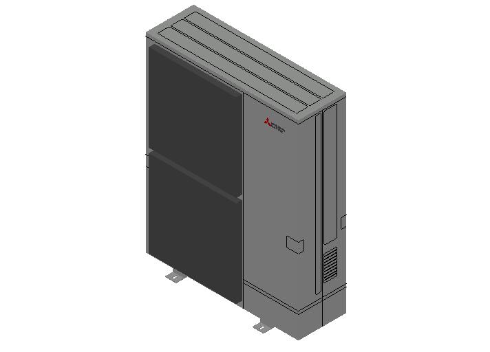 HC_Heat Pump_MEPcontent_Mitsubishi Electric Corporation_PUZ-M250YKA_Standard Inverter_3 Phase_INT-EN.dwg
