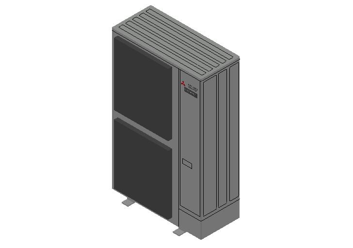 HC_Heat Pump_MEPcontent_Mitsubishi Electric Corporation_PUMY-P250YBM_INT-EN.dwg