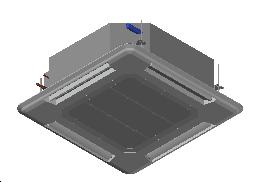 HC_Air Conditioner_Indoor Unit_MEPcontent_Mitsubishi Electric Corporation_PLFY-P40VEM-E_INT-EN.dwg
