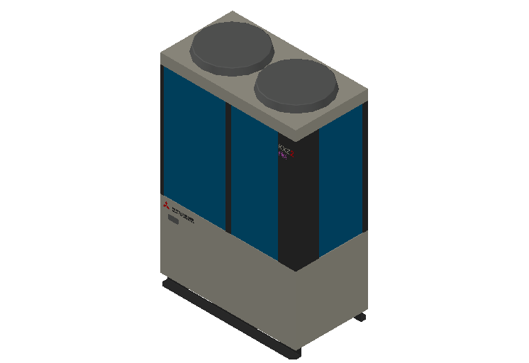 HC_Heat Pump_MEPcontent_Mitsubishi Heavy Industries_VRF_FDC450KXZRE2_INT-EN.dwg