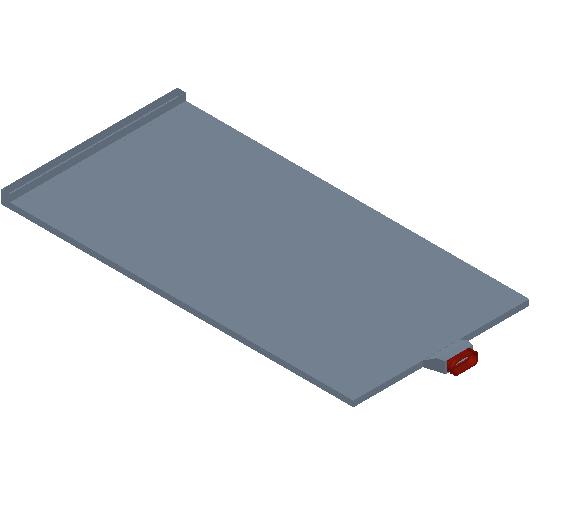 VE_Air Terminal_Floor Collector_MEPcontent_TriX Comfort_Floor system_Single Air Inlet Minimum Installation Height_INT-EN.dwg