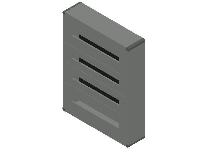 E_Distribution Panel_MEPcontent_Legrand_Lexic XL3 160_Plastic_Wall Mounting_4x96_INT-EN.dwg