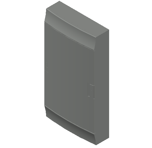 E_Distribution Board_MEPcontent_ABB_MISTRAL41F_Hollow Walls_36 modules 320x600x107 without terminals opaque door_INT-EN.dwg