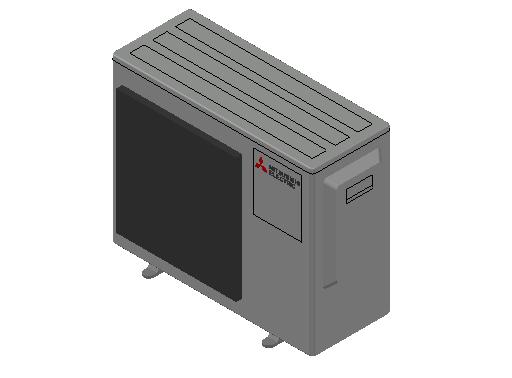HC_Heat Pump_MEPcontent_Mitsubishi Electric Corporation_MXZ-3F54VF_INT-EN.dwg