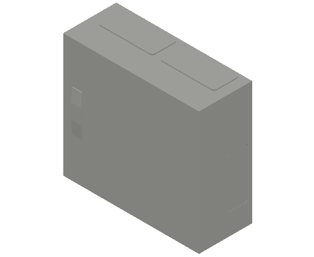 E_Distribution Panel_MEPcontent_ABB_ComfortLine B-Cabinets_3 Rows_B23 - IP44 72 modules 500x550x215_INT-EN.dwg