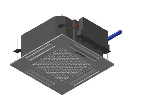 HC_Air Conditioner_Indoor Unit_MEPcontent_Mitsubishi Heavy Industries_PAC_FDTC50VH_INT-EN.dwg