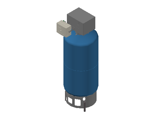 HC_Expansion Vessel_MEPcontent_IMI Hydronic Engineering_Pneumatex ExpansionTank CU300 6.dwg