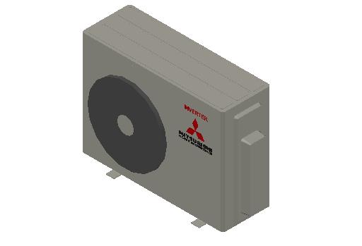 HC_Heat Pump_MEPcontent_Mitsubishi Heavy Industries_RAC_SCM50ZS-W_INT-EN.dwg