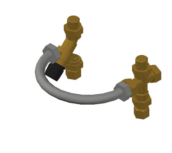 SA_Mixing_Valve-TankMixer_MEPContent_Caleffi-Brass-520_0.75 inch. NPTF x 0.75 inch. NPTM_US-EN.dwg