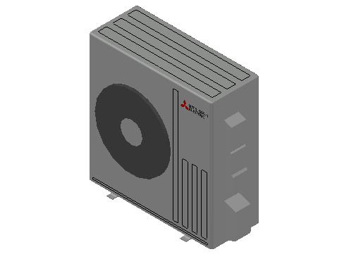 HC_Heat Pump_MEPcontent_Mitsubishi Electric Corporation_SUZ-M71VA_INT-EN.dwg