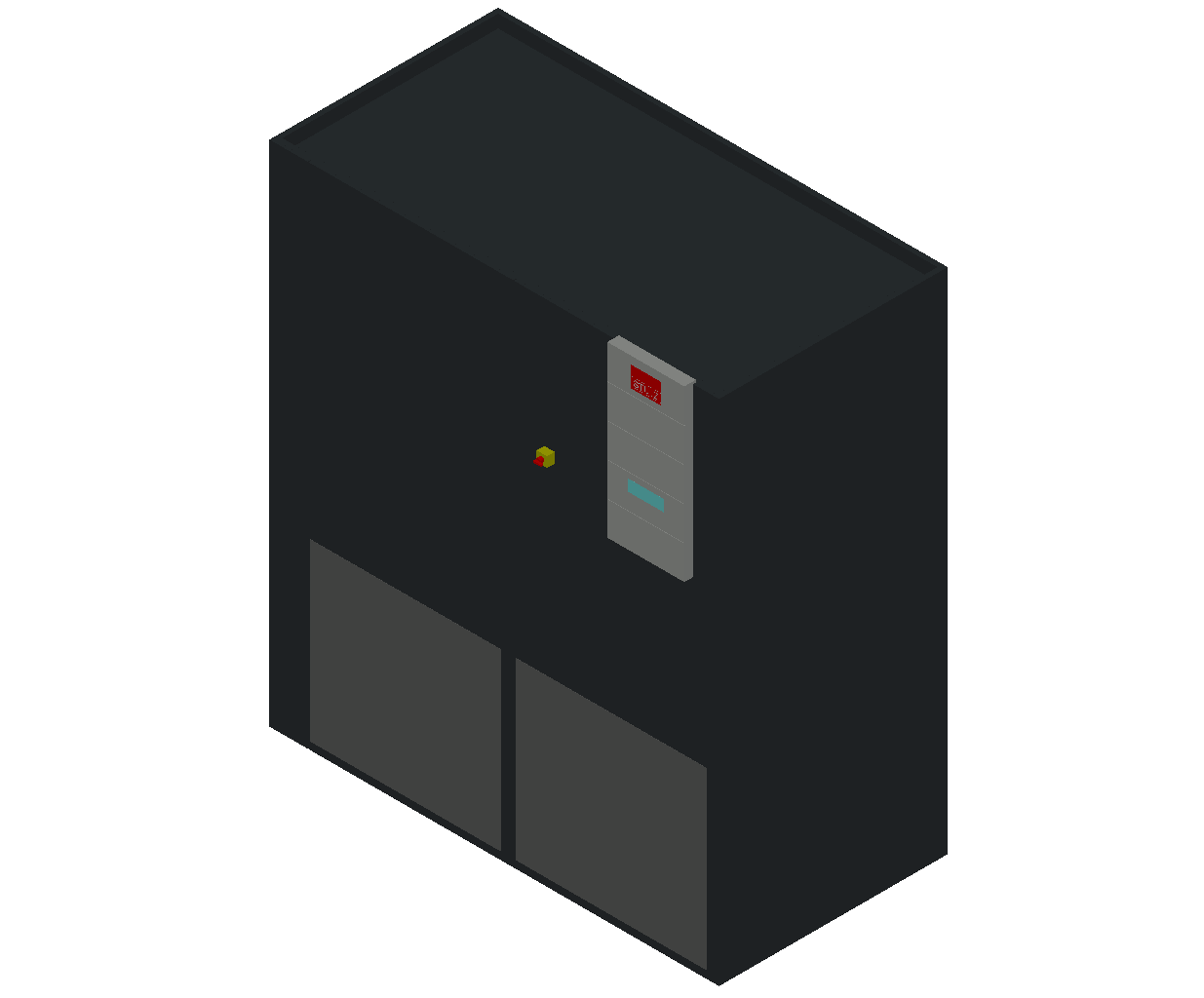 HC_Air Conditioner_Indoor Unit_MEPcontent_STULZ_CyberAir 3PRO_ASU_Single Circuit AS_ASU_501_AS_INT-EN.dwg