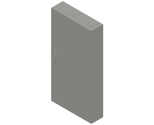 E_Distribution Panel_MEPcontent_ABB_ComfortLine CA-Cabinets_6-7 Rows_CA27VM - IP31 72 modules 1100x550x160 media 7R_INT-EN.dwg