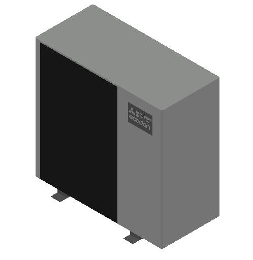 HC_Heat Pump_MEPcontent_Mitsubishi Electric Corporation_Ecodan_PUD-SWM100YAA_INT-EN.dwg