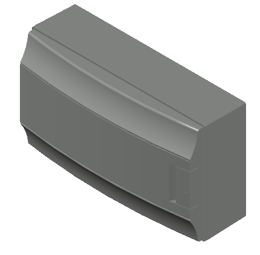 E_Distribution Board_MEPcontent_ABB_MISTRAL65_18 modules 430x250x155 with terminals opaque door_INT-EN.dwg