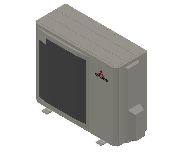 HC_Heat Pump_MEPcontent_Mitsubishi Heavy Industries_PAC_FDC90VNP-W_INT-EN.dwg