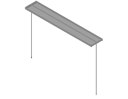 E_Lighting Fixture_F_MEPcontent_FLOS_Mini Beam S1_2x54W T5 White.dwg